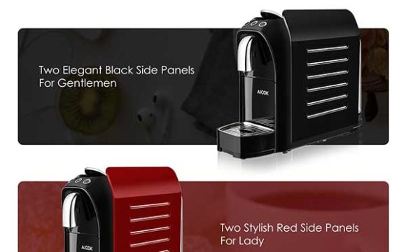 Aicok Espresso Machine for Nespresso Capsules Pros & Cons