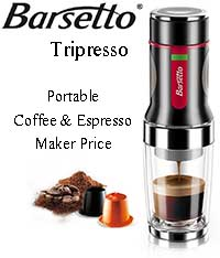 Barsetto Tripresso Hand Powered Portable Coffee & Espresso maker Price