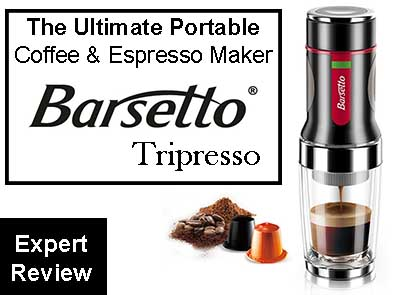 Barsetto Tripresso Hand Pressure Portable Espresso Coffee Machine Review