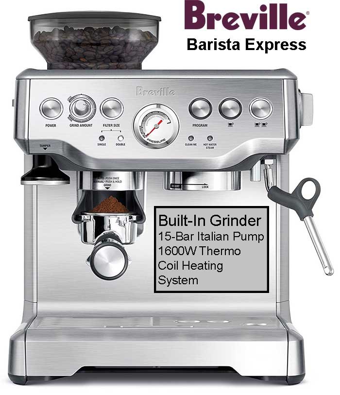 Breville Barista Express Espresso Machine Review
