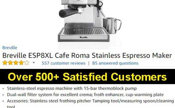 Breville ESP8XL Cafe Roma Espresso Maker