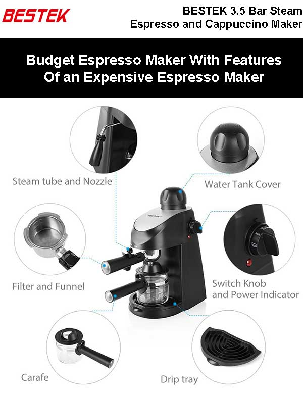 Cheapest Espresso Maker with All The Features Of An Expensive Espresso Machine
