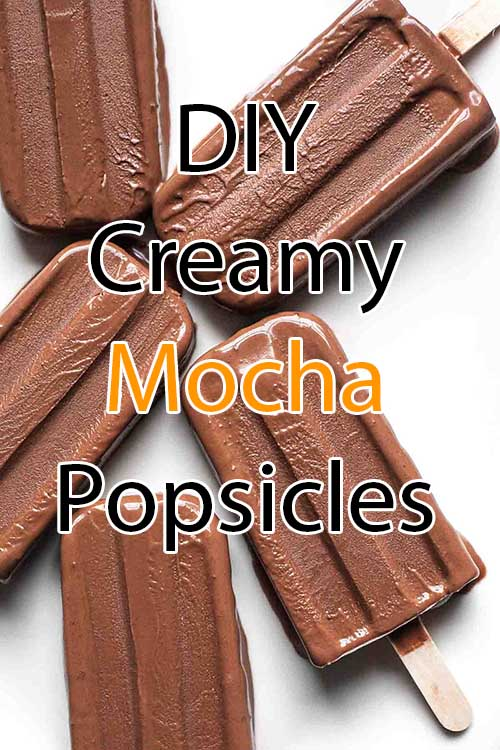Coffee Innovations - Recipes - DIY Creamy Mocha Popsicles - The Latest Coffee Trends