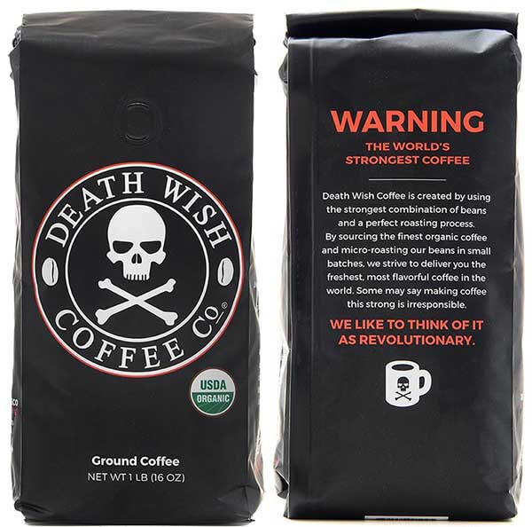 Cool Gift Ideas For Coffee Lovers - Death Wish Coffee