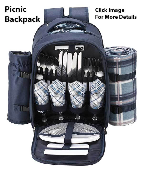 Cool Gift Ideas For Coffee Lovers - Picnic Back Pack