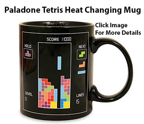 Cool Gift Ideas For Coffee Lovers - Tetris Heat Changing Mug