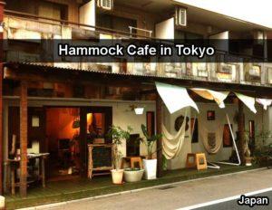 Coolest Cafe In Japan - Hammock Cafe In Tokyo