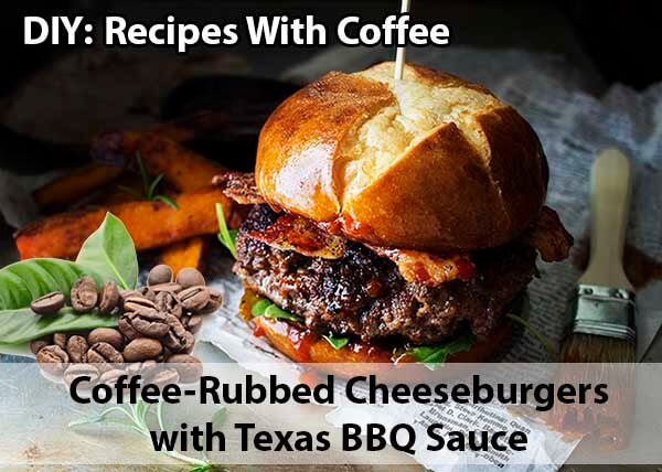 DIY Recipes with coffee - Cheeseburgers