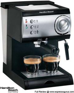 Hamilton Beach Model 40715 Espresso Maker Review