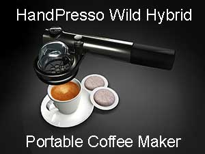 HandPresso Wild Hybrid Portable Coffee Maker Price
