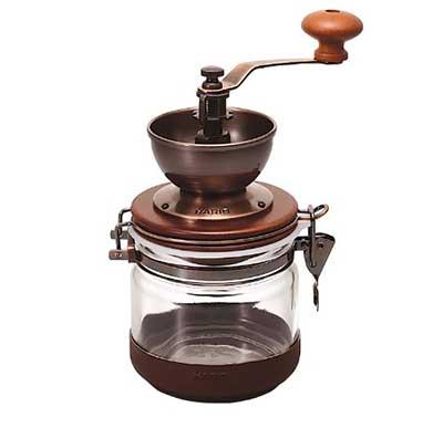 Hario Canister Ceramic Hand Coffee Grinder Mill