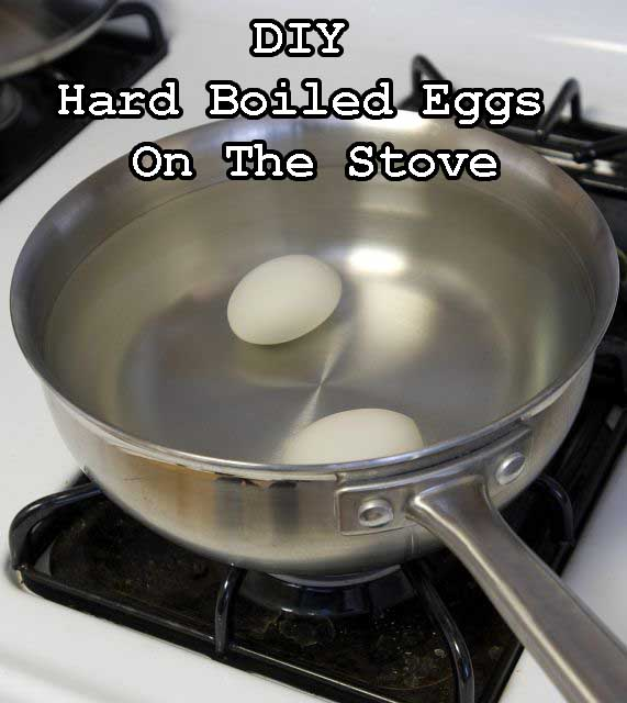 How To Hard Boil Eggs On The Stove Step by Step Guide
