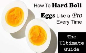How To Hard Boil Eggs The Ultimate Guide