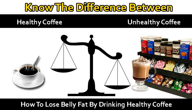 How To Lose Belly Fat By Drinking Coffee