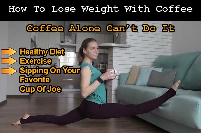 How to lose weight with coffee instantly