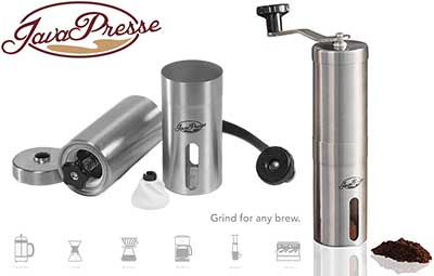 JavaPresse Manual Coffee Grinder Price