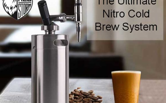 KEG STORM Nitro Cold Brew Coffee Maker