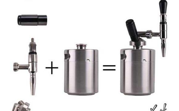 KEG STORM Nitro Cold Brew Coffee Maker Diagram
