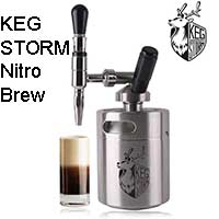 KEG STORM Nitro Cold Brew Coffee Maker Price