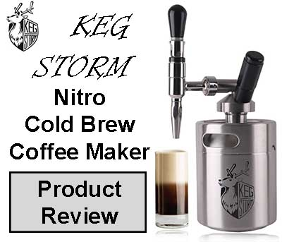 KEG STORM Nitro Cold Brew Coffee Product Review