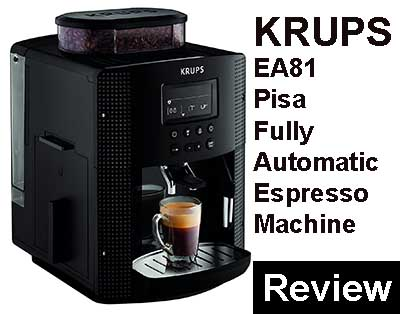 Krups Coffee Maker Reviews Ratings : KRUPS EA81 Pisa Fully Automatic Espresso Machine Review