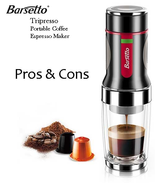 Pros and cons of a portable coffee maker Staresso Espresso Coffee Maker Review