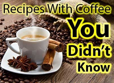 Top Rated Recipes With Coffee