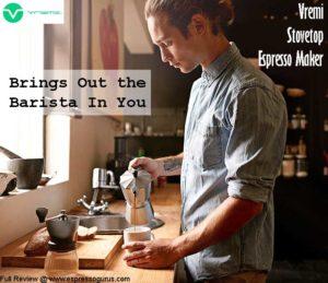 Vremi Moka Pot - Stovetop Espresso Maker Pros & Cons