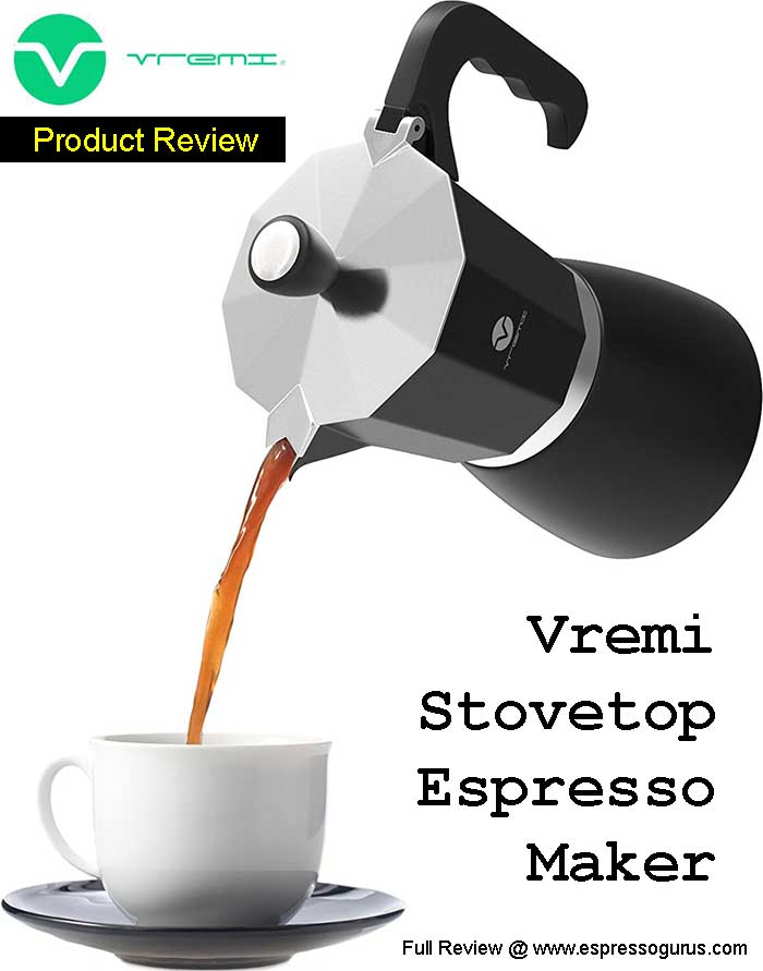 Vremi Stovetop Espresso Maker - Ranked The Best Moka Pot