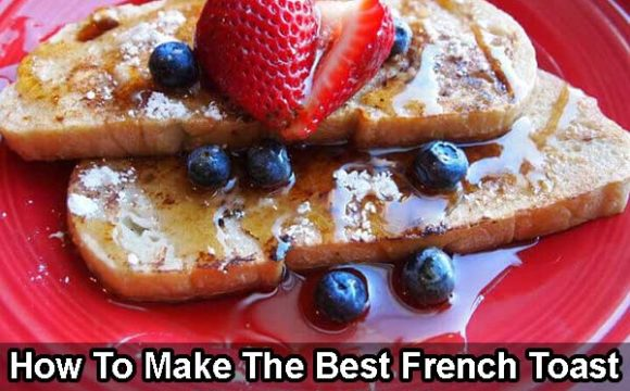 how to make french toast by frying it