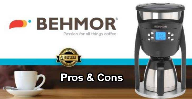Behmor Brazen Plus Coffee Maker Pros & Cons