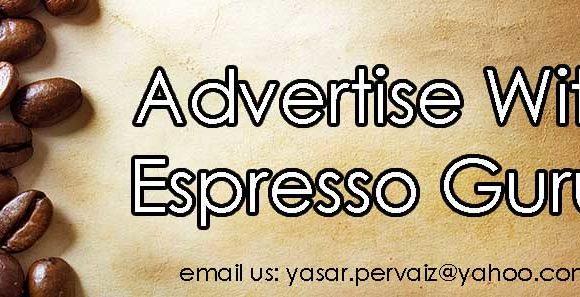 Advertise with espresso gurus