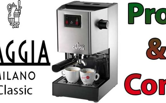 gaggia classic espresso machine reviews