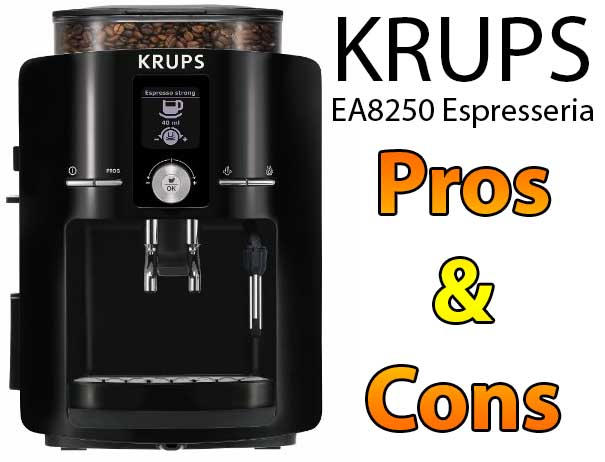 KRUPS EA8250 Espresseria Super Automatic Espresso Machine Pros and Cons