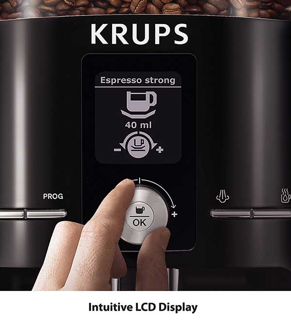 KRUPS EA8250 Espresseria Super Automatic Espresso Machine Specs and details