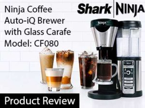 Ninja Coffee Auto-iQ Brewer with Glass Carafe CF080 Review