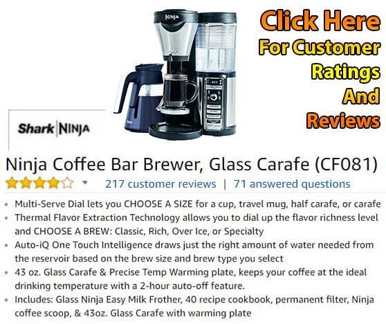 Ninja Coffee Bar Brewer CF081 Review - Customer Ratings And Reviews