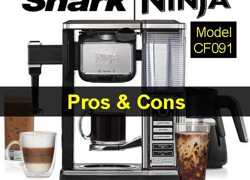 Ninja Coffee Bar Brewer System With Glass Carafe (CF091) Pros And Cons