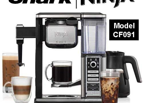 Ninja Coffee Bar Brewer System with Glass Carafe (CF091) Review