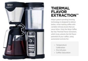 Ninja Coffee Bar Brewer Thermal Flavor Extraction