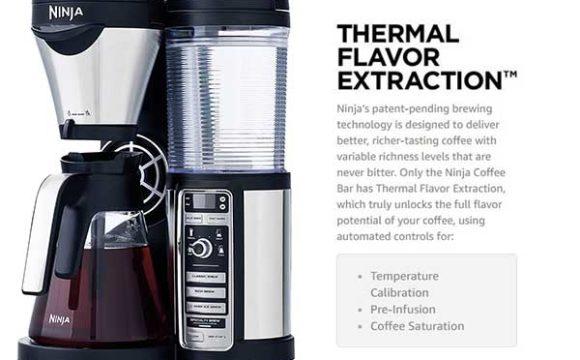 Ninja Coffee Bar Brewer Thermal Flavor Extraction