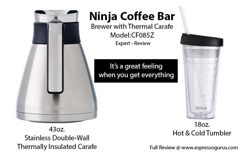 Ninja Coffee Bar Brewer with Thermal Carafe CF085Z Expert Review