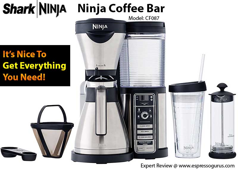 Ninja Coffee Bar Review - Ninja Coffee Bar Expert & In-Depth Review
