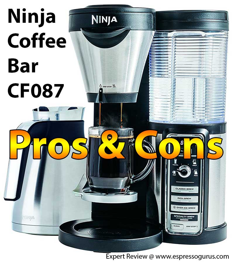 Ninja Coffee Bar Review - Ninja Coffee Bar Pros & Cons