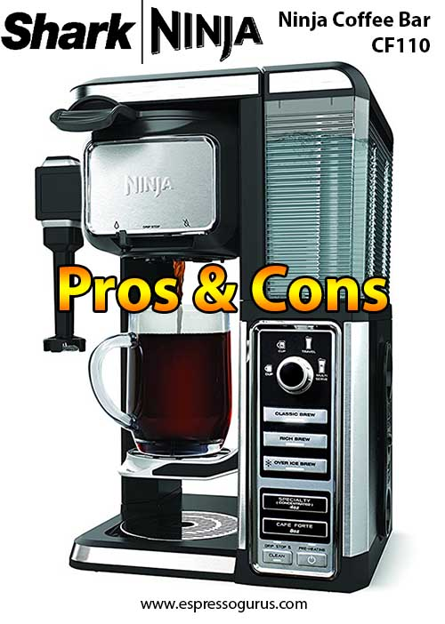 Ninja Coffee Bar Single Serve System CF110 Review - Pros & Cons