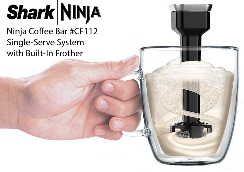 Ninja Coffee Bar Single Serve System with built in frother CF112 - Full Review - Specs - Features