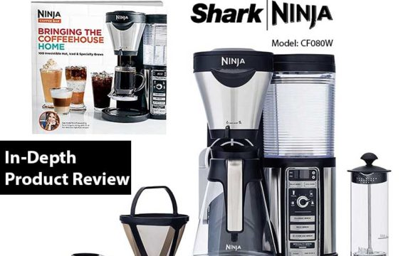 Ninja Coffee Maker Specifications : Ninja Coffee Bar System CF080W Review, Features, Specs & Details