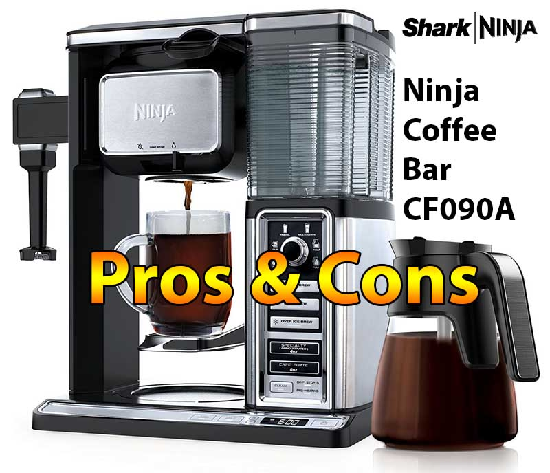 Ninja Coffee Bar System CF090A Expert Review - Pros & Cons