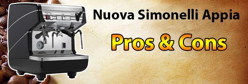 Nuova Simonelli Appia Pros & Cons - Espresso Machine Expert Review