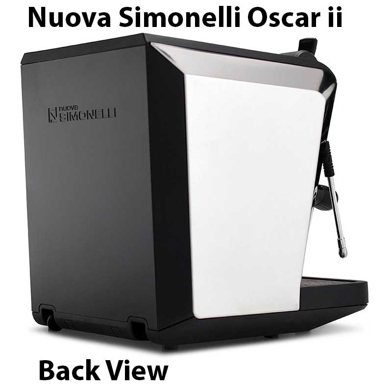 Nuova Simonelli Oscar ii Espresso Machine Expert Review Back View